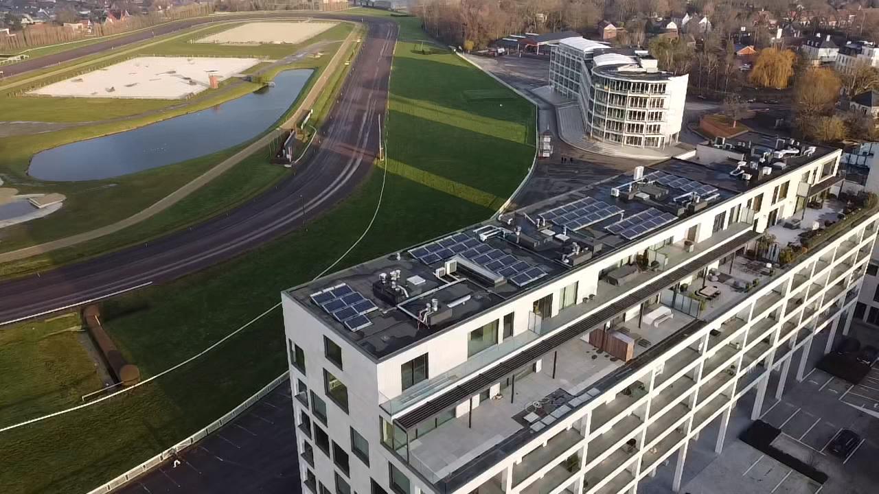 Installation panneaux solaires appartements