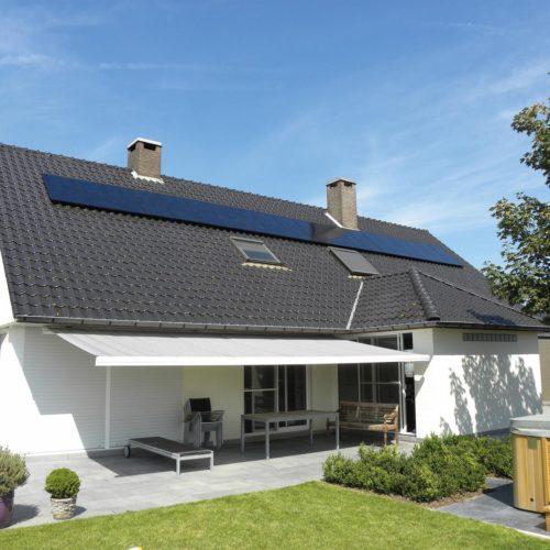 Residentiële installatie 15 zonnepanelen Menen