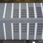 Panneaux solaires installation industrielle